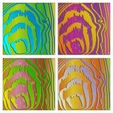 Struttura di legno colorata Immagini Stock