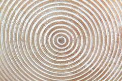 Struttura di legno con i cerchi Fotografia Stock