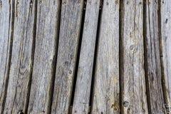 Struttura di legno con i chiodi, fondo Immagini Stock