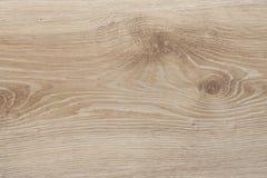 Struttura di legno con il modello naturale, pavimentazione laminata usata fotografia stock