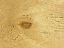 Struttura di legno con il nodo Fotografia Stock Libera da Diritti
