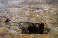 Struttura di legno con il ramo scuro Fotografie Stock