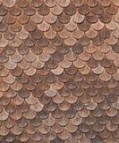 Struttura di legno coperta di tegoli fotografia stock