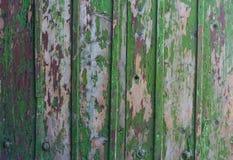 Struttura di legno d'annata del fondo con i nodi Immagini Stock Libere da Diritti
