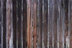 Struttura di legno dei recinti Fotografia Stock