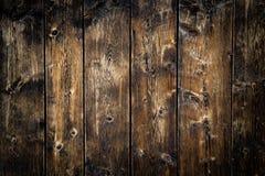 Struttura di legno del fondo del pavimento del vecchio granaio Fotografie Stock