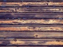 Struttura di legno del fondo del recinto Immagini Stock Libere da Diritti
