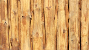 Struttura di legno del fondo del recinto Parete del primo piano delle plance di legno Immagine Stock
