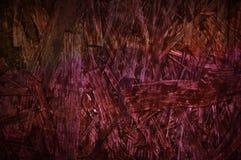 Struttura di legno del fondo del truciolato di Borgogna del pannello truciolare della superficie rossa dello scrittorio Fotografia Stock