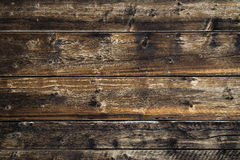 Struttura di legno del fondo del vecchio granaio Fotografie Stock