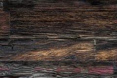 Struttura di legno del fondo del vecchio granaio occidentale Immagine Stock