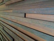 Struttura di legno del fondo della parete Immagine Stock