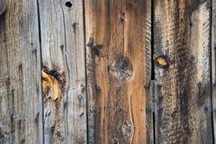 Struttura di legno del fondo della parete del granaio Immagini Stock Libere da Diritti