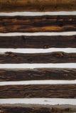 Struttura di legno del fondo della parete del granaio Immagine Stock Libera da Diritti