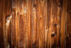 Struttura di legno del larice realmente vecchio Immagine Stock Libera da Diritti