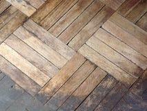 Struttura di legno del modello del parquet Fotografie Stock Libere da Diritti