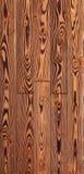 Struttura di legno del pavimento, parquet del larice Fotografie Stock