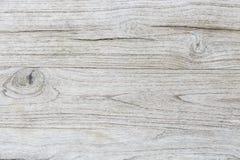 Struttura di legno del tek grigio per fondo Fotografie Stock Libere da Diritti