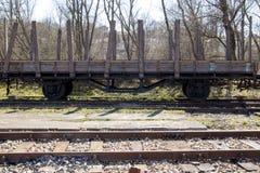 Struttura di legno del vagone fotografia stock libera da diritti