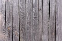 Struttura di legno del vecchio della parete fondo di legno grigio del recinto immagini stock libere da diritti