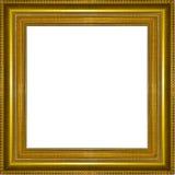 Struttura di legno dell'oro della cornice Illustrazione Vettoriale