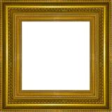 Struttura di legno dell'oro della cornice Royalty Illustrazione gratis