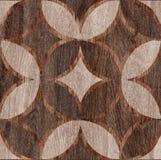 Struttura di legno della decorazione Fotografie Stock Libere da Diritti
