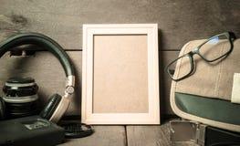 Struttura di legno della foto, esploratore Fotografie Stock