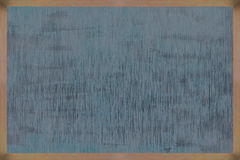 Struttura di legno della lavagna con la superficie del nero Fotografie Stock Libere da Diritti