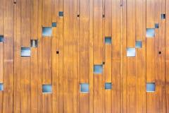 Struttura di legno della parete fotografie stock