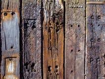 Struttura di legno della parete Fotografia Stock