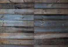 Struttura di legno della parete del tek Fotografie Stock Libere da Diritti