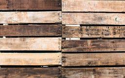 Struttura di legno della parete della striscia, fondo Immagine Stock Libera da Diritti