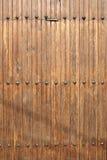 Struttura di legno della porta Fotografia Stock