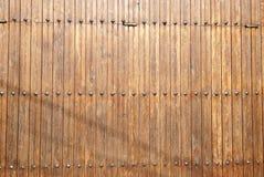 Struttura di legno della porta Immagine Stock Libera da Diritti