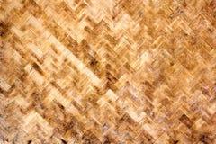 Struttura di legno di bambù Fotografia Stock
