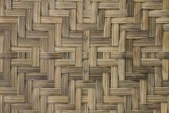 Struttura di legno di bambù Immagini Stock