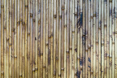Struttura di legno di bambù Immagine Stock
