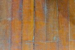Struttura di legno di Brown del pavimento. Fotografia Stock