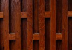 Struttura di legno di colore marrone scuro Immagini Stock