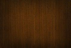 Struttura di legno di marrone scuro, fondo di legno del grano Fotografie Stock