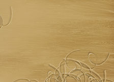 Struttura di legno di pino con i trucioli. Immagine Stock