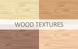 Struttura di legno di vettore in varia temperatura del colore royalty illustrazione gratis
