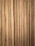 Struttura di legno di Zebrano immagine stock libera da diritti