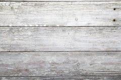 Struttura di legno esposta all'aria della plancia Fotografie Stock Libere da Diritti