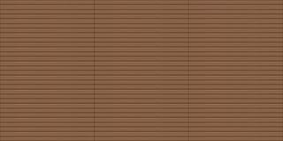 Struttura di legno esteriore senza cuciture di decking Fotografie Stock