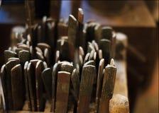 Struttura di legno, fine su fondo Immagine Stock