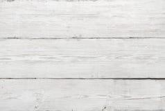 Struttura di legno, fondo di legno bianco Immagini Stock Libere da Diritti