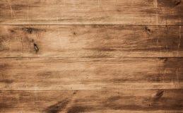 Struttura di legno, fondo di legno marrone Fotografia Stock