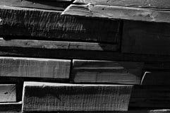 struttura di legno di giorno soleggiato il lite fotografia stock